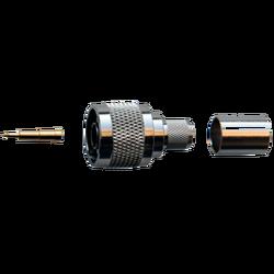 Разъем N-типа, вилка, для кабеля 8D (обжимной)